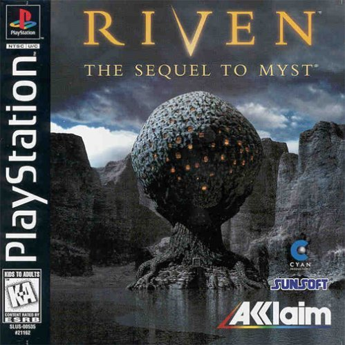 Psx Riven 3d E 5 CD Set