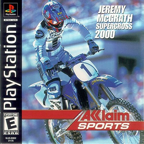 Psx Jeremy Mcgrath Supercross 2000 E