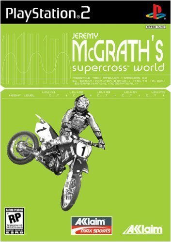 Ps2 J. Mcgrath's Supercross World Rp
