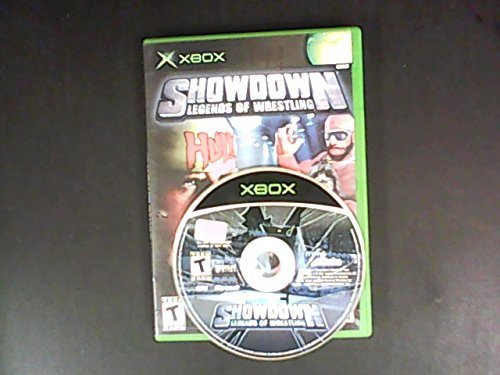 Xbox Showdown Legends Of Wrestling