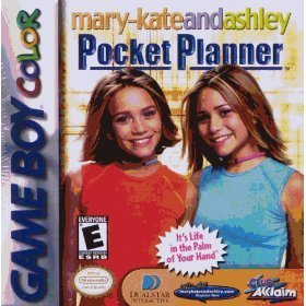 Gameboy Color Mary Kate And Ashley Pocket Planner E
