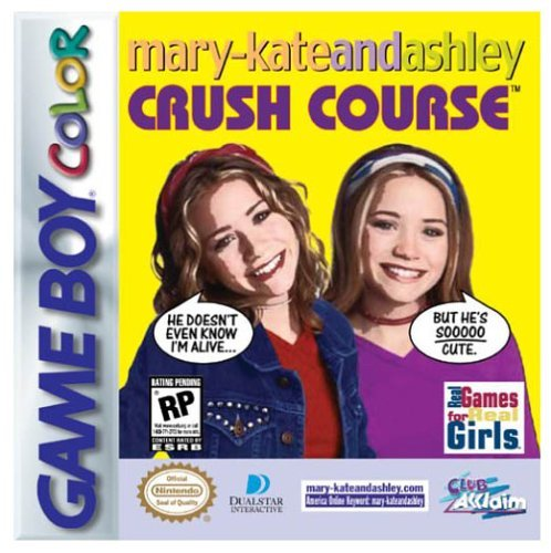 Gameboy Color Mary Kate And Ashley Crush Course Rp