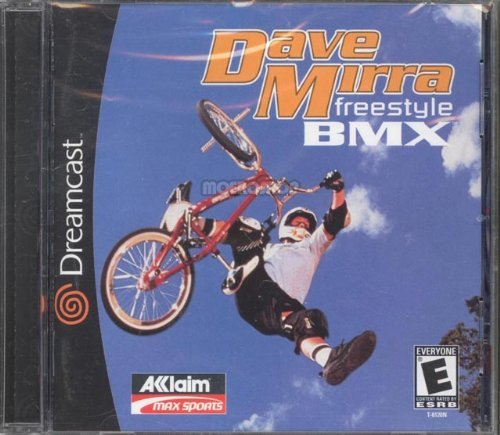 Sega Dreamcast Dave Mirra Freestyle Bmx E