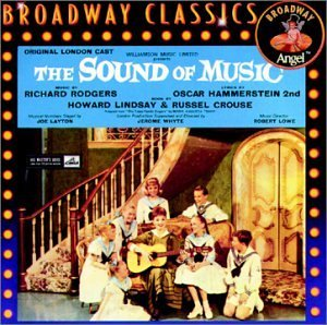 Sound Of Music Original Cast Recording 1961 Bayless Shacklock Gilbert &