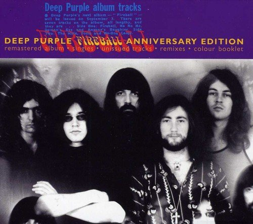 Deep Purple Fireball (25th Anniversary) Import Net Remastered Incl. Bonus Tracks