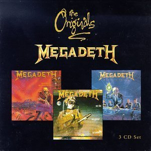 Megadeth Originals Series Import Uk Originals 3 CD Set