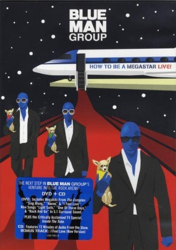 Blue Man Group How To Be A Megastar Import Arg Incl. CD