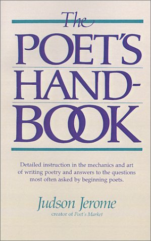 Judson Jerome Poet's Handbook The