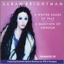 Sarah Brightman Whiter Shade Of Pale Enhanced CD B W Question Of Honor