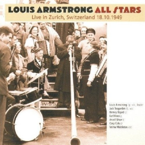 Louis Armstrong All Stars Live In Zurich Switzerland 18.