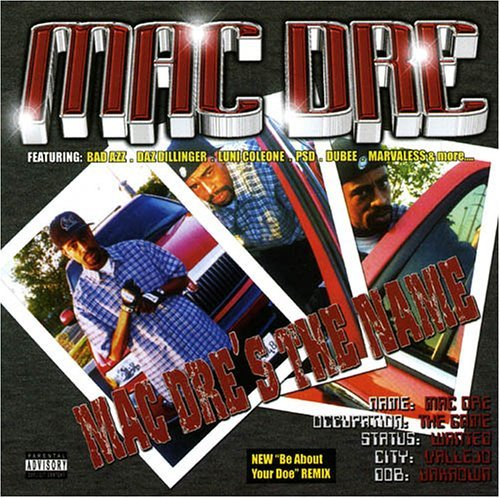 Mac Dre Mac Dre's The Name Explicit Version