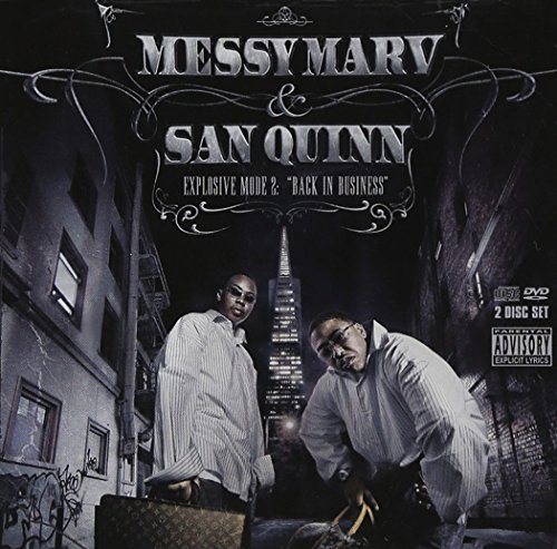 Messy Marv San Quinn Explosive Mode 2 Back In Busin Explicit Version Incl. DVD