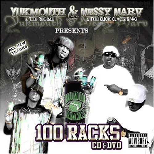 Yukmouth & Messy Marv 100 Racks Album Explicit Version Incl. DVD
