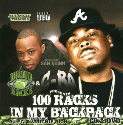 C Bo 100 Racks In My Backpack Explicit Version Incl. DVD
