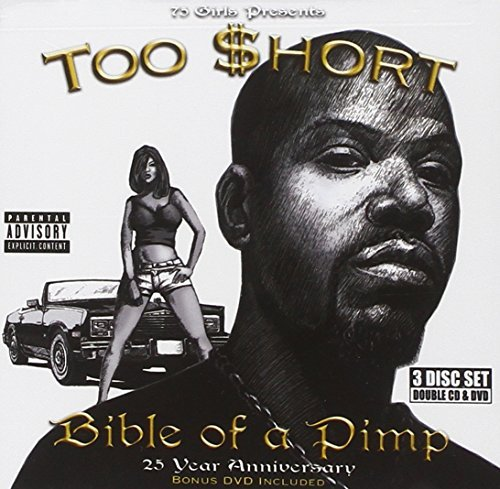 Too Short Bible Of A Pimp Explicit Version 2 CD