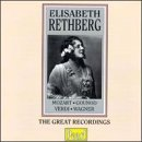 Elisabeth Rethberg Great Recordings Rethberg (sop)