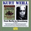K. Weill From Berlin To Broadway Vol. 2 Various