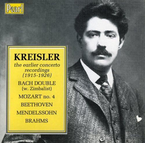 Fritz Kreisler Early Concerto Recordings 1915 Kreisler (vn)