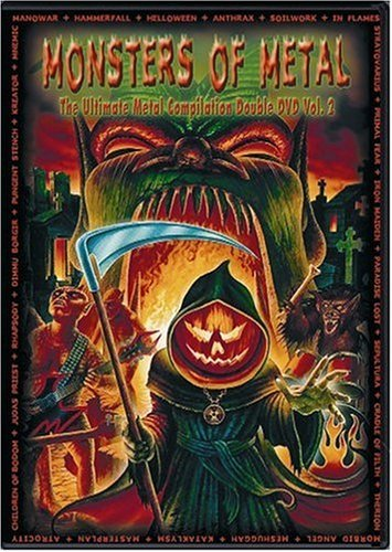 Monsters Of Metal Vol. 2 Monsters Of Metal 2 DVD Set Monsters Of Metal
