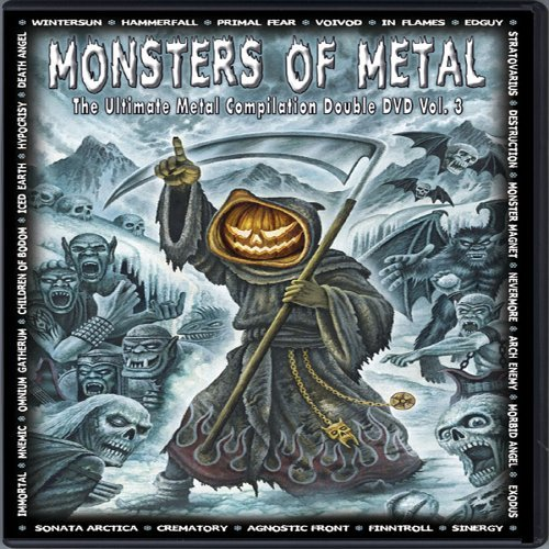 Monsters Of Metal Vol. 3 Monsters Of Metal 2 DVD