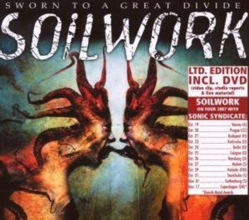 Soilwork Sworn To A Great Divide Ltd W Import Gbr Incl. Bonus DVD