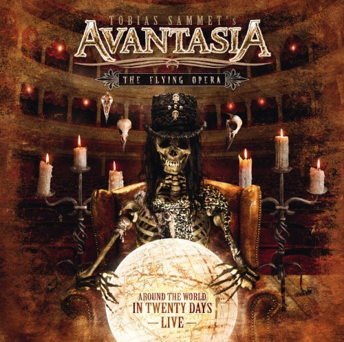 Avantasia Flying Opera Around The World 4 CD