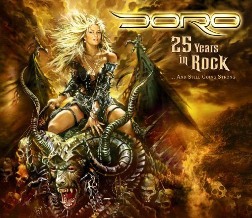 Doro 25 Years In Rock Incl. 2 DVD 3 CD