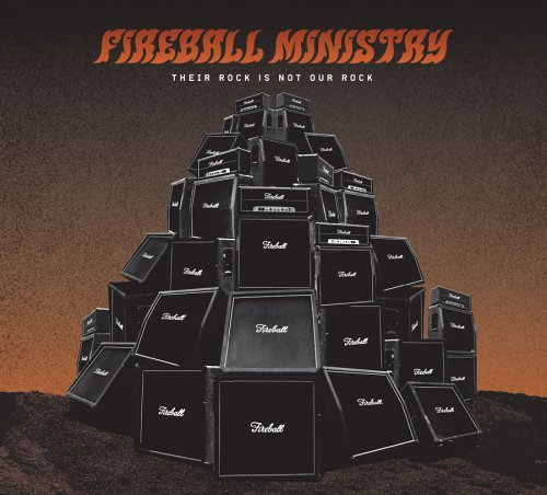 Fireball Ministry Their Rock Is Not Our Rock Incl. Bonus CD Sampler