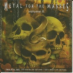 Various Artists Metal For The Masses Vol. 2