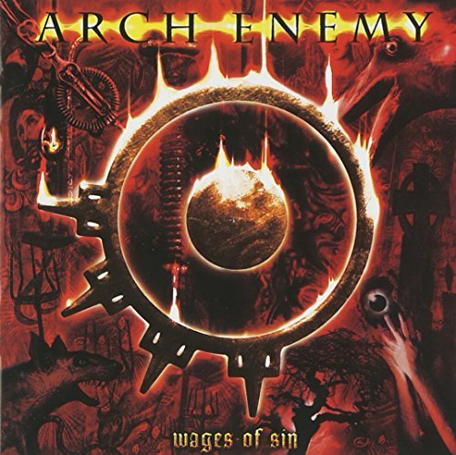 Arch Enemy Wages Of Sin 20 Pg. Color Booklet 2 CD