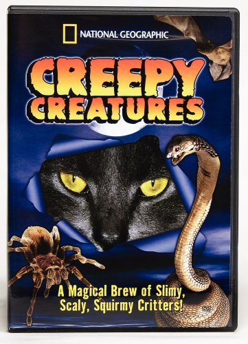 National Geographic Creepy Creatures Clr Chnr