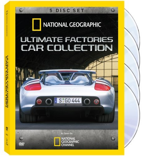 Ultimate Factories Car Collect National Geographic Nr 3 DVD