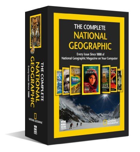National Geographic Complete 1888 2009 Nr