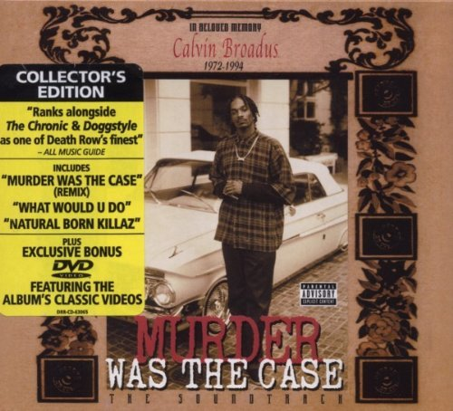 Murder Was The Case Soundtrack Explicit Version Lmtd Ed. Remastered Incl. Bonus DVD