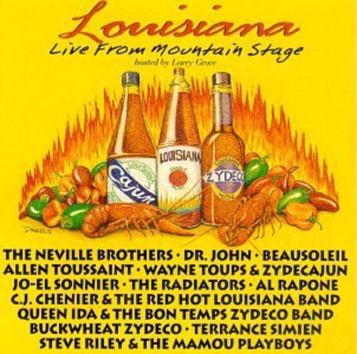 Mountain Stage Louisiana Live From Mountain S Neville Brothers Radiators Mountain Stage
