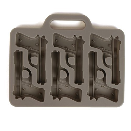 Gift Freeze! Handgun Ice Tray 12