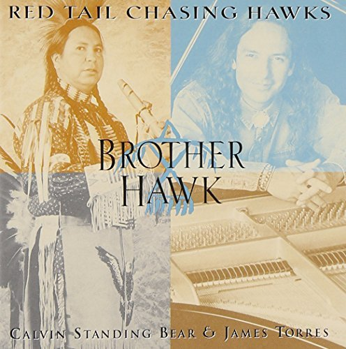 Red Tail Chasing Hawks Brother Hawk