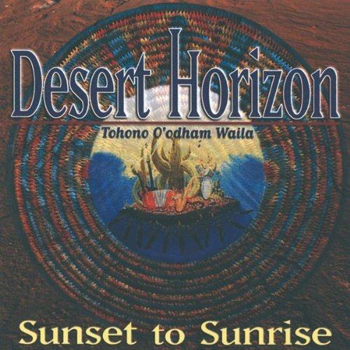 Desert Horizon Sunset To Sunrise