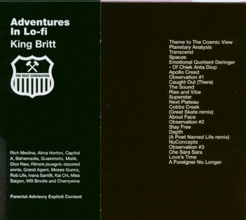 King Britt Adventures In Lo Fi