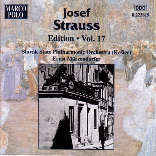 J. Strauss Edition Vol. 17 Marzendorfer Slovak State Phil