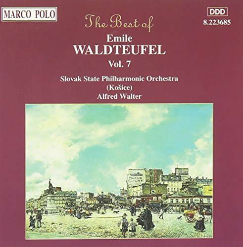E. Waldteufel Best Of Vol. 7 Walter Slovak State Po