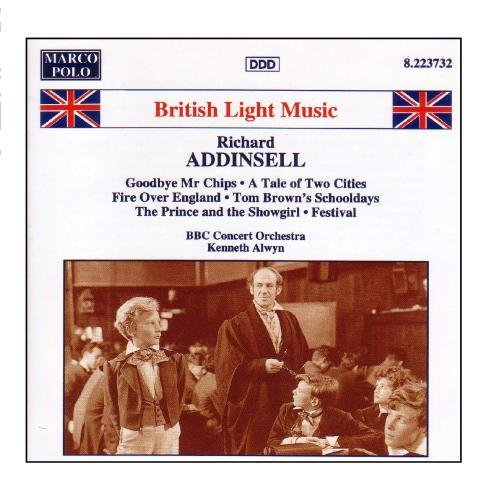 R. Addinsell Goodbye Mr Chips Invitation Wa Martin (pno) Elms (pno) Alwyn Bbc Concert Orch