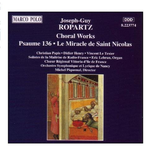 Papis Henry Piquemal Choral Works Ropartz