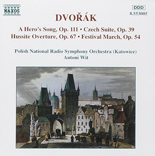 Antonin Dvorák Czech Ste Hero's Song Hussite Wit Polish Natl Rso