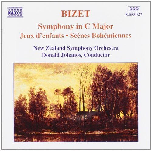 G. Bizet Sym Jeux D'enfants Scenes Bohe Johanos New Zealand So