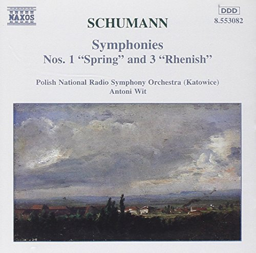 Robert Schumann Sym 1 3 Wit Polish Natl Rso