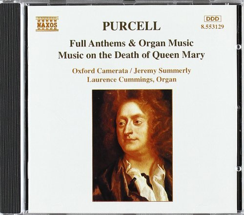 H. Purcell Music On The Death Of Queen Ma Cummings*laurence (org) Summerly Oxford Camerata