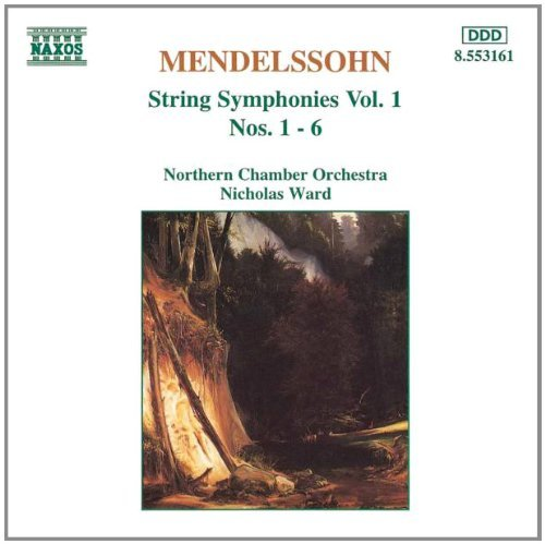 Felix Mendelssohn Sym Str Vol. 1 Ward Northern Co