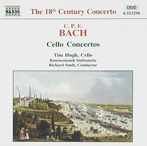C.P.E. Bach Cello Concertos Hugh*tim (vc) Studt Bournemouth Sinf