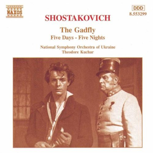 Dmitri Shostakovich Gadfly 5 Days 5 Nights Kuchar Natl So Ukraine